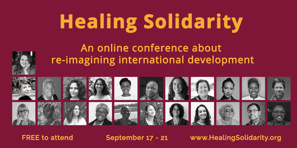Healing Solidarity Group Image - Twitter